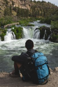 Steelhead Falls is another great waterfall near Bend Oregon and it feels like an oasis.