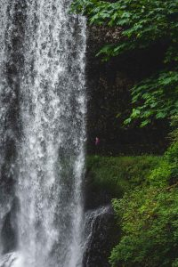 The Lower South Falls is a beautiful waterfall on the Trail of Ten Falls.