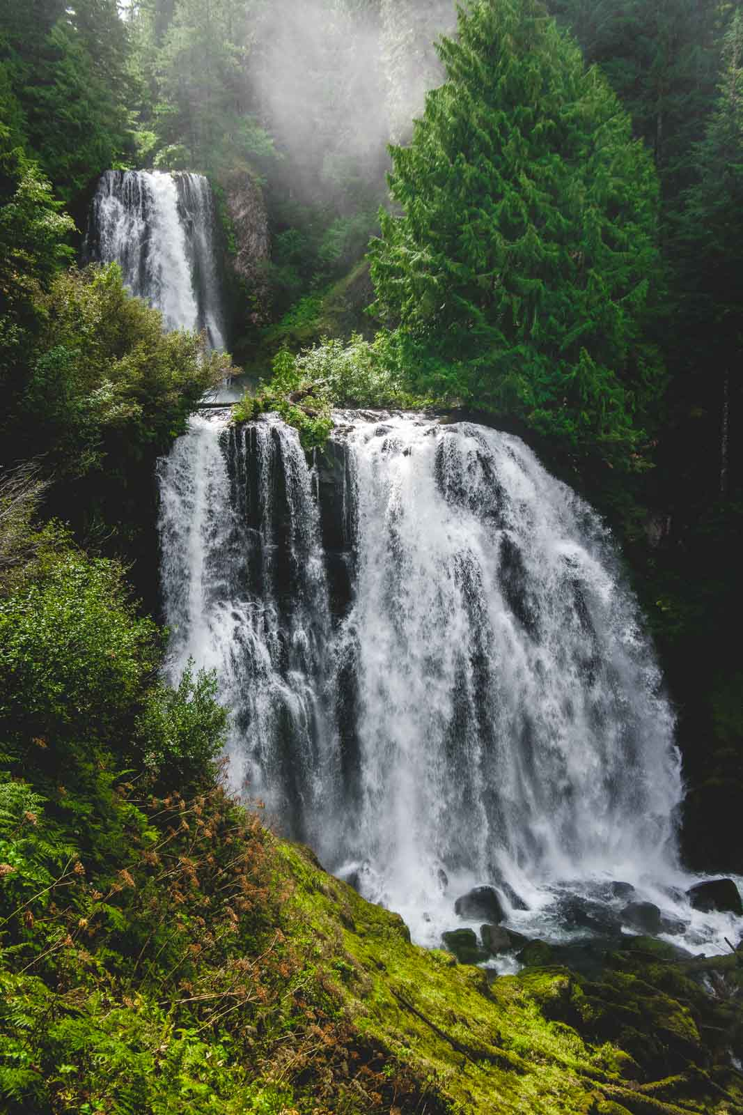 Marion Falls is a Bend, Oregon waterfall that's worth visiting.