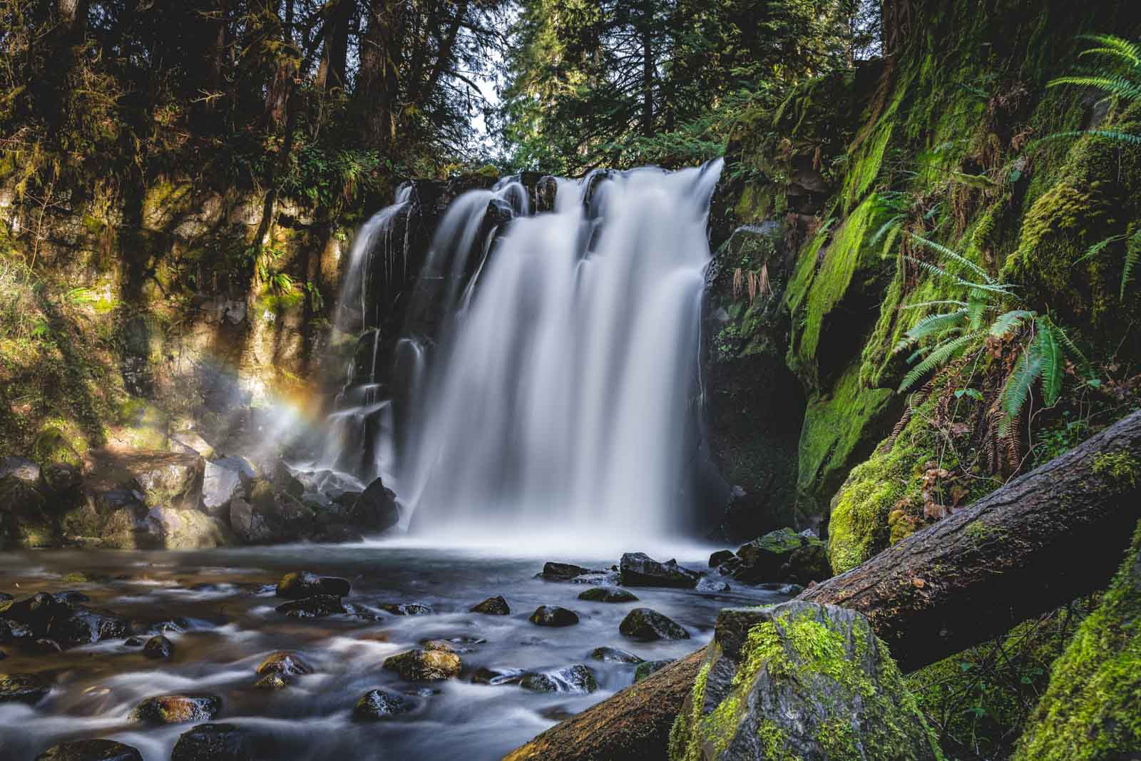 If you're looking for Oregon waterfalls, be sure to visit McDowell Creek Falls.