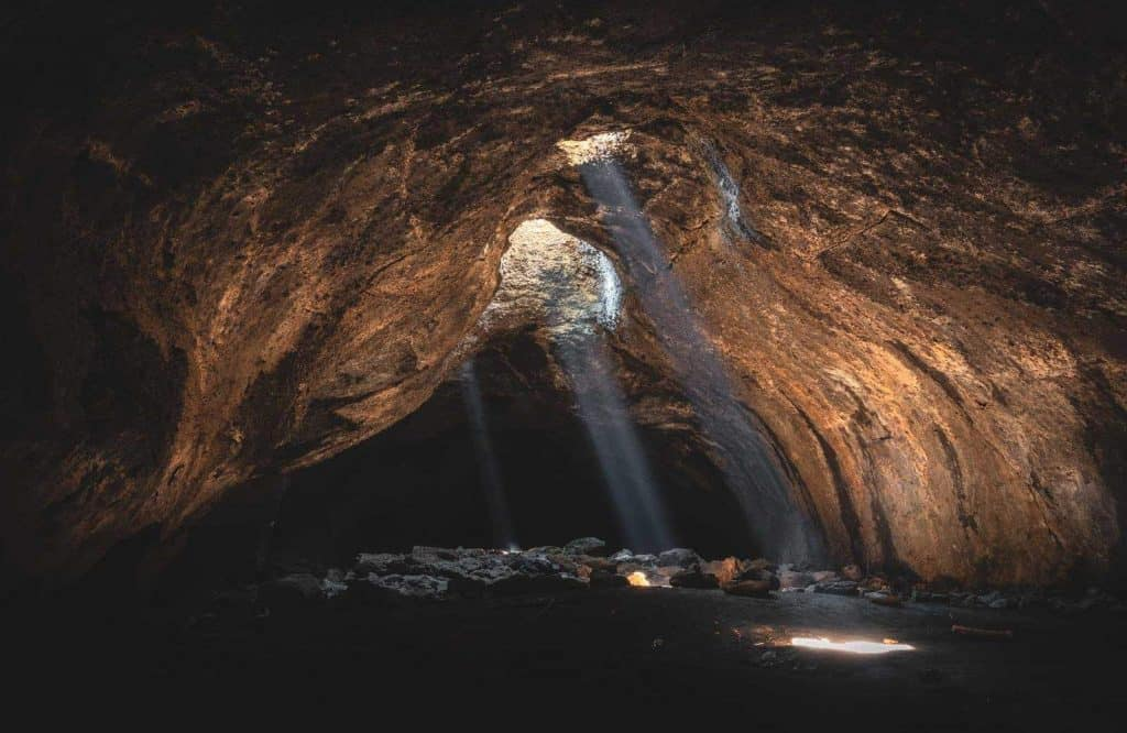 One of my favorite Oregon caves is Skylight Cave.