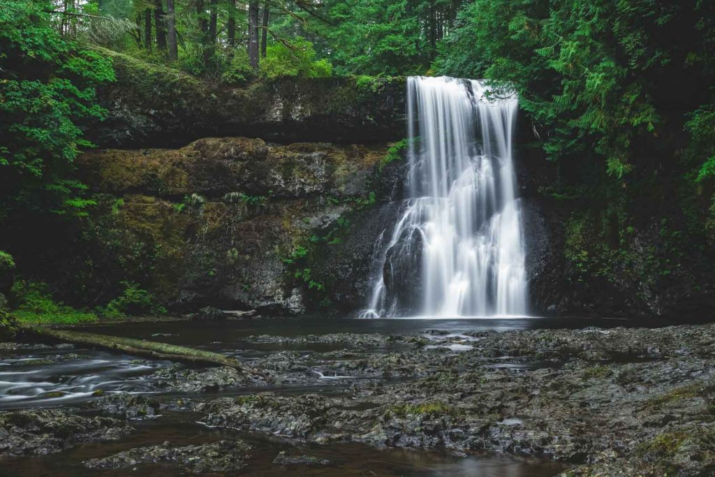 Upper North Falls is a must on your Silver Falls hike.