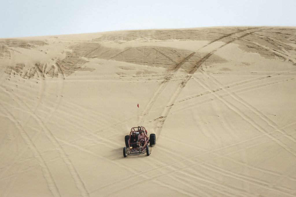 Dune buggies are a must when visiting Oregon sand dunes!