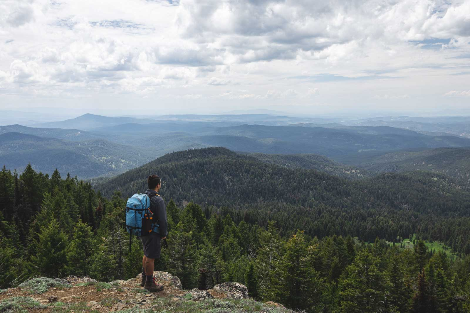A fun hike in Ochoco National Forest is Lookout Mountain trail.