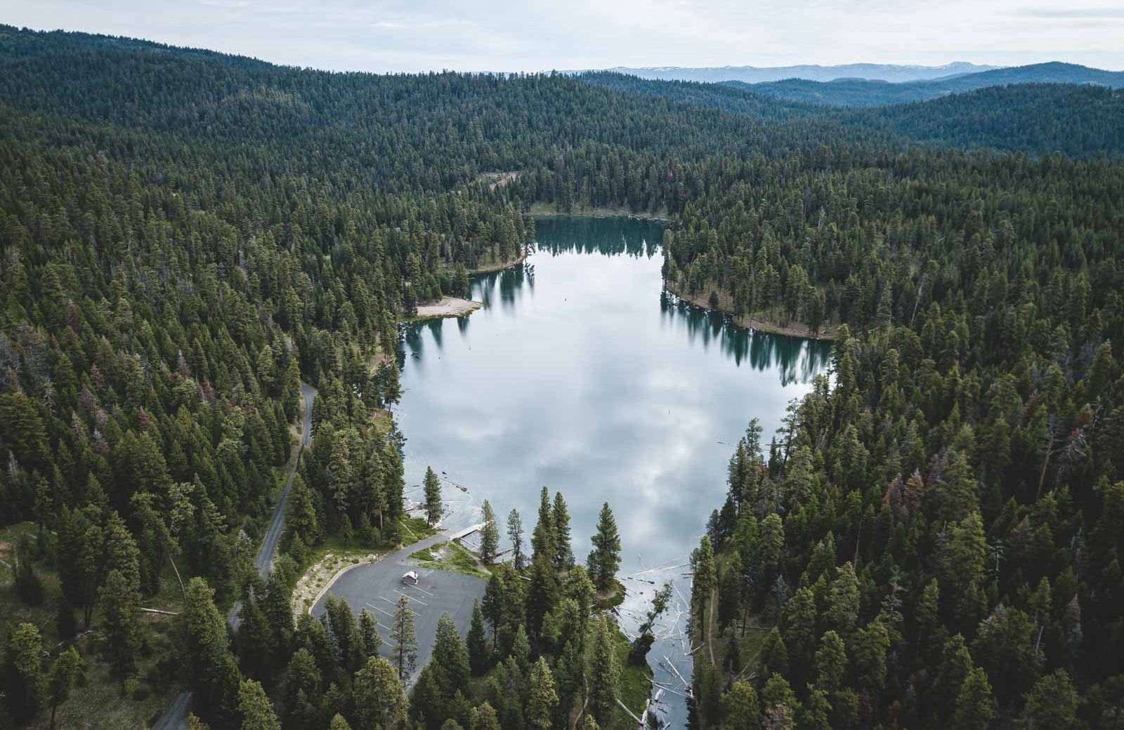 Don't forget to visit Magone Lake when you're at Strawberry Mountain Wilderness.