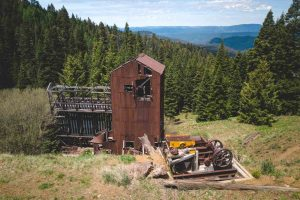 The views of Mother Lode Mine in Ochoco National Forest are stunning.