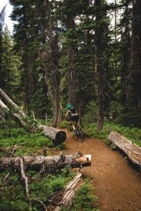 You'll see a few bicycle trails on your Tumalo Falls hike.