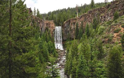 Tumalo Falls Hike & Bike Trail Near Bend, Oregon