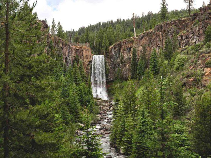 Tumalo Falls Hike & Bike Trail Near Bend, Oregon