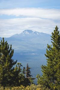 Mountain view from summit of Black Butte