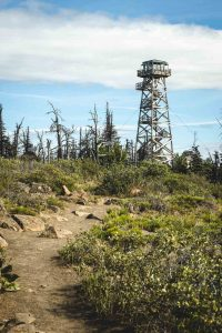 A Fire Lookout on the Black Butte Trail