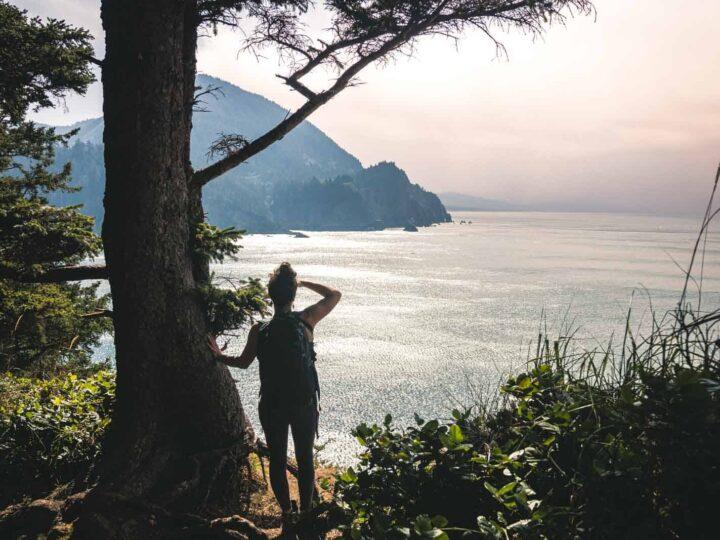 Hiking the Cape Falcon Trail on The Oregon Coast