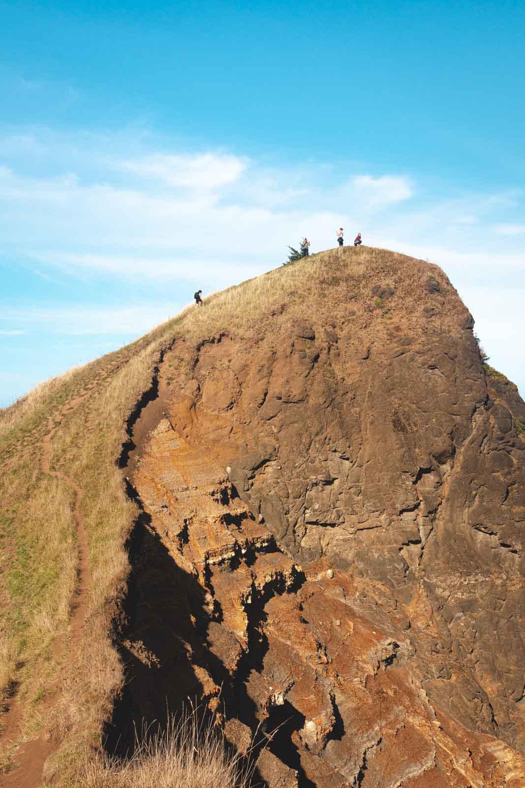 Summit of God's Thumb Hike in Oregon