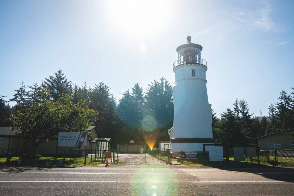 Umpqua River Lighthouse, one of the best Oregon Lighthouses to visit