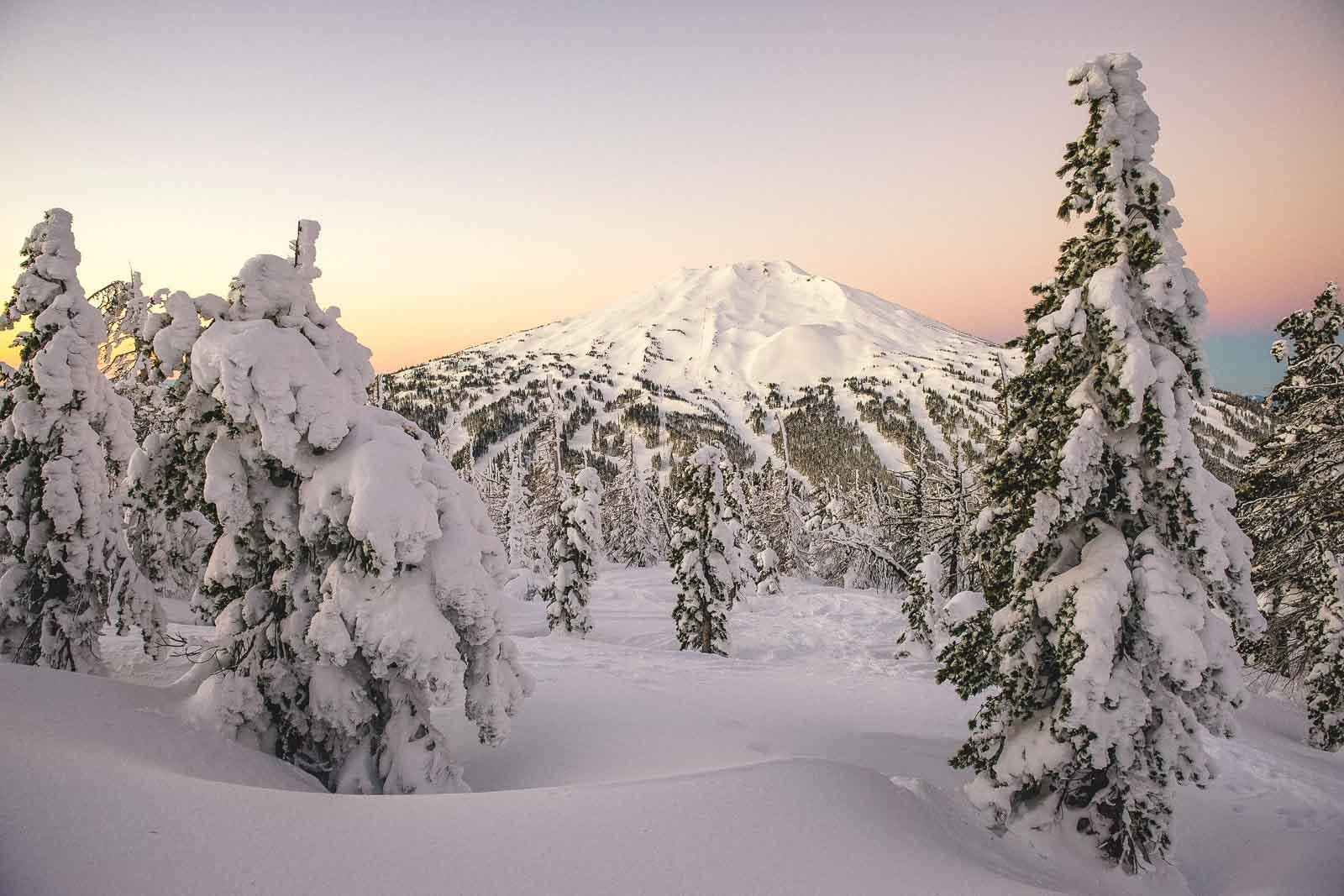 Ski resorts in Oregon