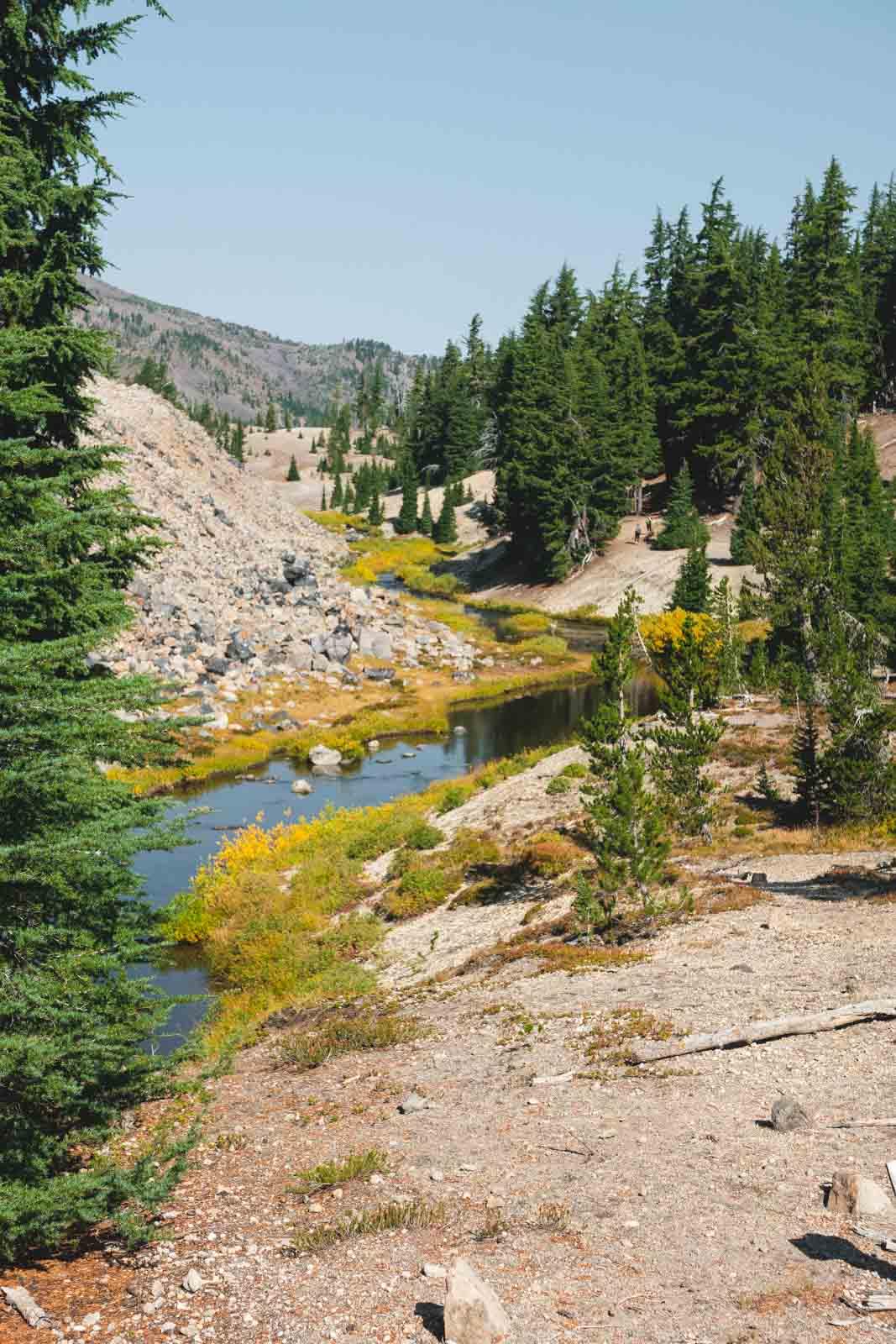 Creek on Green Lakes Hike