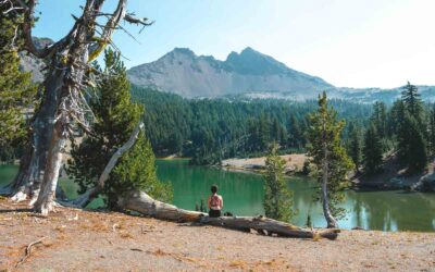 Tackling The Green Lakes Trail Near Bend, Oregon