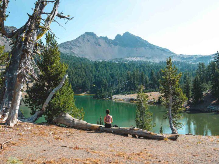 Tackling The Green Lakes Trail Near Bend, Oregon