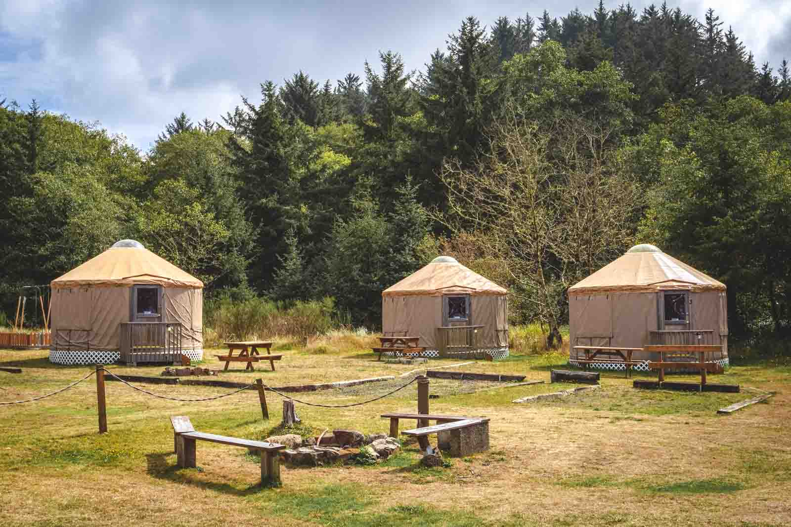 Yurts Oregon Coast