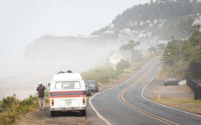 Three Capes Scenic Route on The Oregon Coast