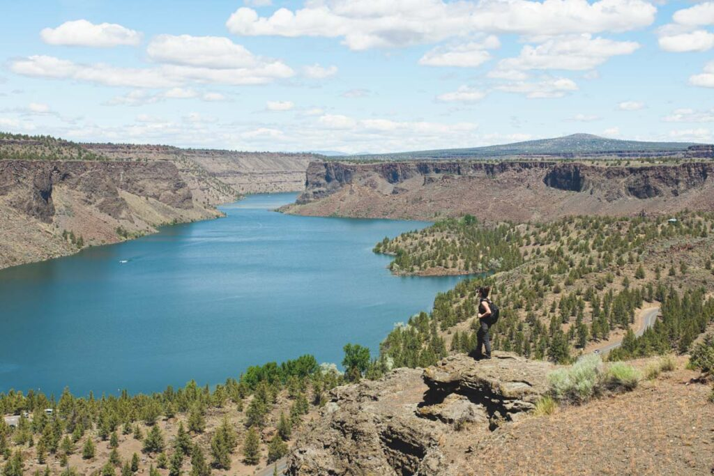 View of Lake Billy Chinook from the Tam-a-lau Trail